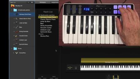 iRig Keys I/O搭配MainStage使用教程