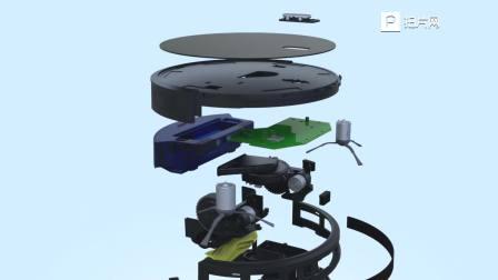 Amarey智能扫地机器人-中文版