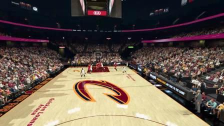 NBA2K17火箭王朝模式名人堂难度 姚明年 16赛季 第四场  客场VS骑士
