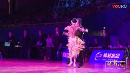 (上海站)A组拉丁舞决赛-----------------------------谷庆午-林紫萱-桑巴