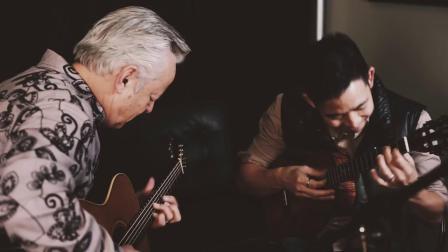 【指弹吉他】二重奏 Rachel's Lullaby丨Tommy Emmanuel & Jake Shimabukuro