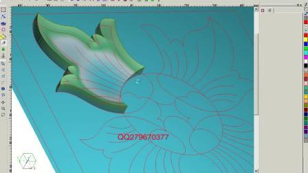 北京精雕软件设计教程视频 电脑浮雕制图讲解视频