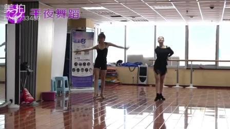 体育舞蹈艺考培训哪里好?看千夜舞蹈艺考生伦巴展示