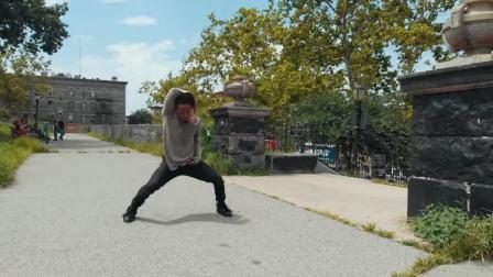 Goku DanseElectro in Brooklyn's Sunset Park - ELECTRO DANCE JMBeats x YAK