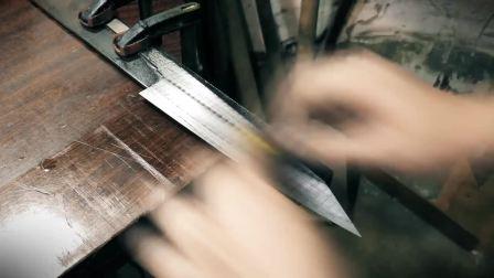制作日式厨师刀Knife Making - Kiritsuke Japan Kitchen Knife