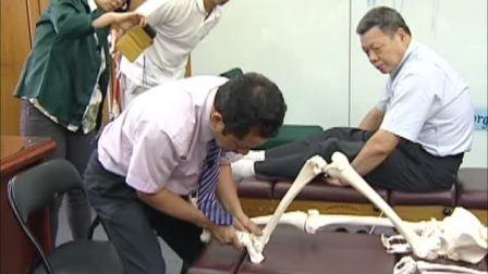 chiro18曹修悌美式整脊-脊椎矫正教学18-足部-跟骨后偏--中华脊椎健康研究中心