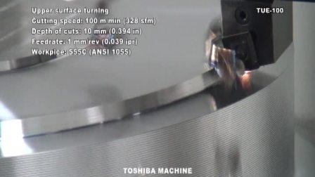 数控立车 TUE-100  东芝机械 英文版