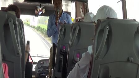 08042018_B 印度导游王天宇车上讲解印度风俗和沿途