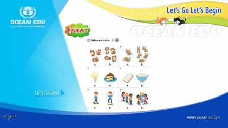 Review 3 - The Weather - Student book - Let's Go Let's Begin