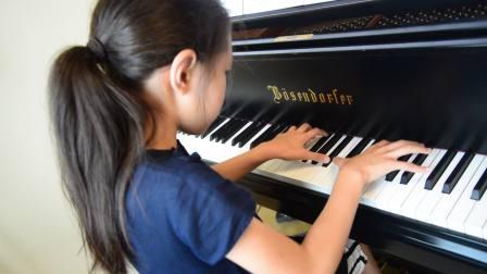 20180806徐和颐维也纳音乐及表演艺术大学琴房练习