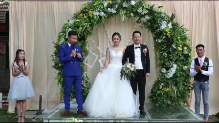 2018最新婚礼视频一主持阿峰