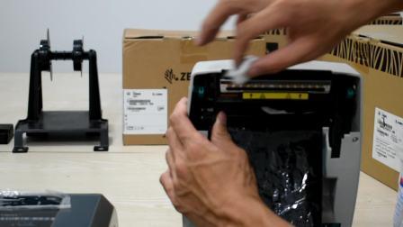 ZEBRA斑马GK888t GT800 GT820打印机清洁打印头视频教程  超详细 清洁打印头延长打印机寿命