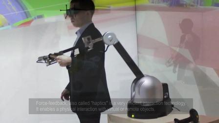 TechViz通过IPSI接口使用Haption力反馈设备模拟与3D模型的物理交互——TechViz解决方案