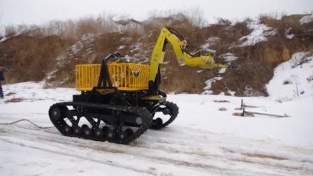 山东未来机器人——消防机器人