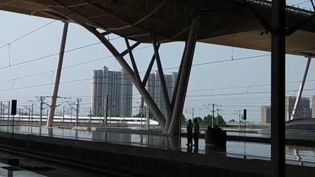 20180809武广高铁武汉站CRH380A进站