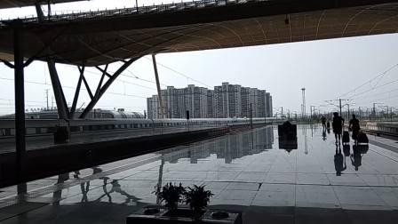 20180809武广高铁武汉站CRH380A出站