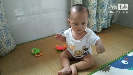 宝贝八个月的视频