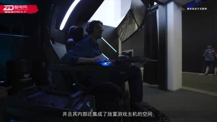 宏碁在IFA展上推出了一款史诗级多显示器电竞座舱
