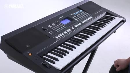 YAMAHA KB-291/KB290电子琴官方中文教程6:力度键盘的相关设定
