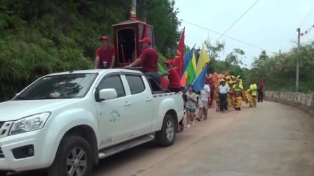二0一八年七月十四日双华镇黄径村庆祝廖伯二郎诞辰623周年活动