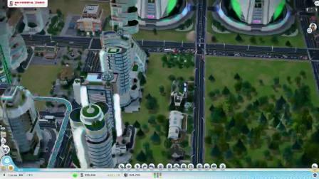 小9雨露诺【模拟城市游戏实况】大都会了!漂亮又繁华的城市