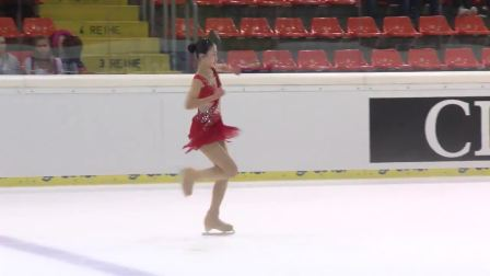 Hongyi Chen (CHN) _ Ladies Free Skating _ Linz 2018