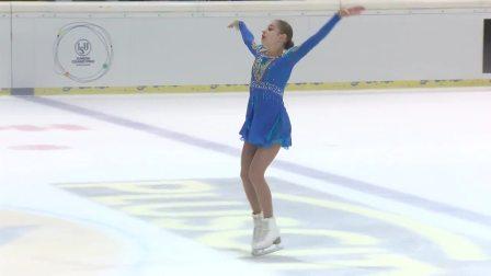 Alena Kostornaia (RUS) _ Ladies Free Skating _ Linz 2018