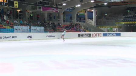 Alena Kanysheva (RUS) _ Ladies Free Skating _ Linz 2018