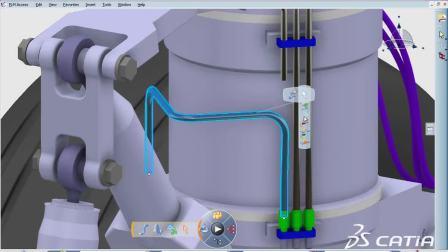 CATIA V6 Equipment Systems Design CATIA Piping & Tubing Fluidic Routing