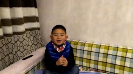 【6岁半】2-7哈哈背诵《2018年春节童谣》video_174558