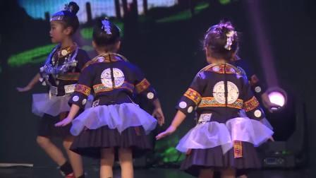 2018花儿朵朵少儿才艺盛典《小银匠》潼南七彩舞蹈