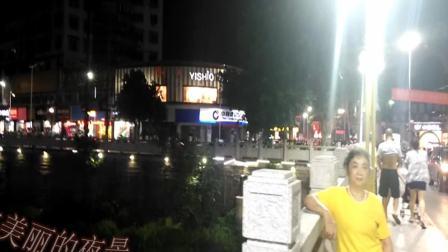 重庆大足区龙水夜景