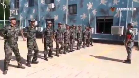 上海西点军事夏令营,军事教官训练备战中