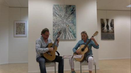 Maria Linnemann 'Antonino' (2 guitar version) [720p]