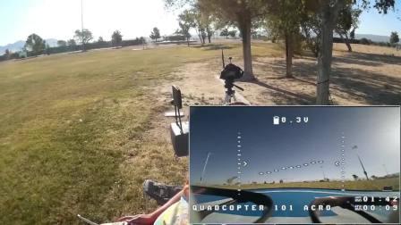 创客火Armor 90竞速穿越机飞行体验,极速穿越!