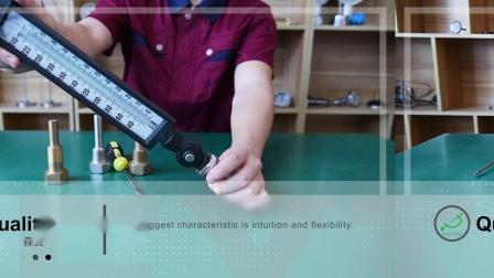 森垚仪表产品篇—-摇头工业玻璃棒温度计