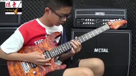 王鑫宇 电吉他独奏《漫步人生路》 沂水炫音吉他培训学校