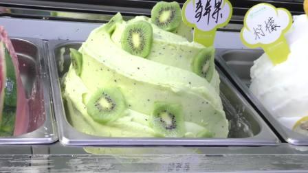 意式手工冰淇淋培训课成果展示