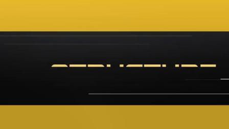 动感线条文字极限体育运动宣传AE模板