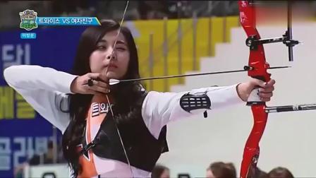 韩国最美射箭运动员, 射完箭回头那一瞬间我发现