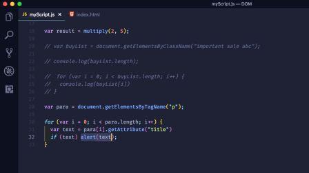《JavaScript DOM 编程艺术》06:获取与修改属性