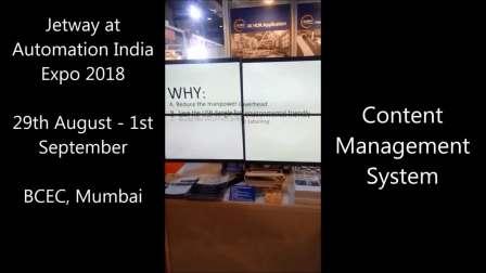 2018年印度自动化展 - 孟买