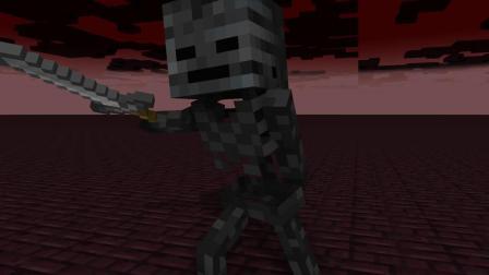 我的世界动画-高手 vs 凋灵骷髅-AymOrb