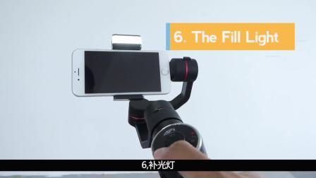 国外评测 AFI V5手持稳定器你必须知道的十点