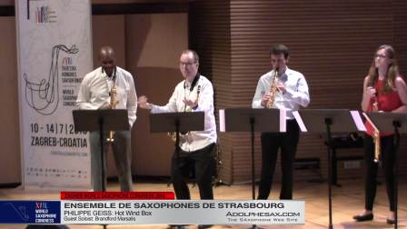 Hot Wind Box by Philippe Geiss - Ensemble de Saxophones de Strasbourg