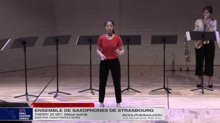 Silence Must be by Thierry de Mey - Ensemble de Saxophones de Strasbourg