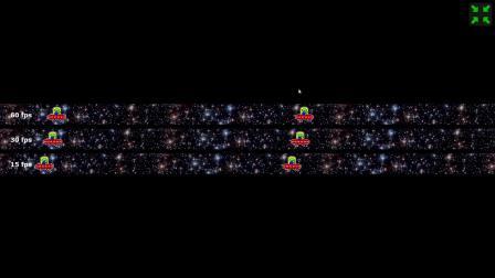 UFO Test_ Multiple Framerates @60HZ
