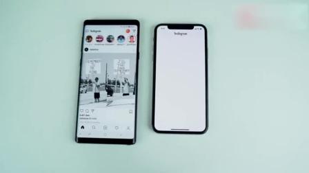 三星note9对比IOS12的苹果X、提升大不大还得比比才知道