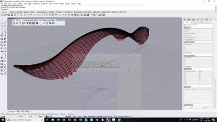 利用Rhino参数化建模插件Grasshopper生成Sofistik有限元模型