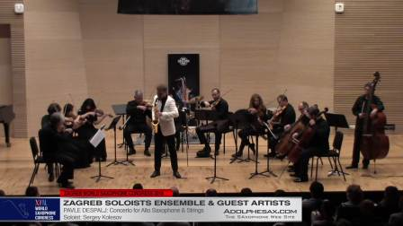 Concerto by Pavle Despalj  - Segey Kolesov #adolphesax